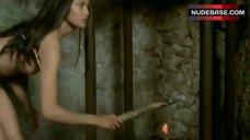 9. Laura Gemser Sex in Barn – Sister Emanuelle