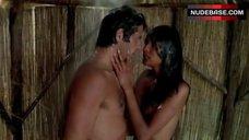 10. Laura Gemser Real Blowjob in Shower – Black Emanuelle