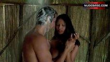 3. Laura Gemser Real Blowjob in Shower – Black Emanuelle