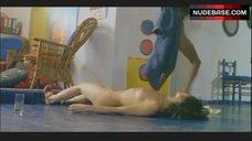 10. Laura Gemser Nude in Lesbian Scene – Emanuelle In America
