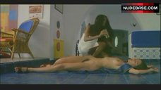 2. Laura Gemser Nude in Lesbian Scene – Emanuelle In America