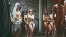 Laura Gemser Bare Breasts and Pussy – Caligula: The Untold Story