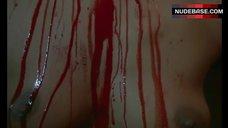Laura Gemser Topless and Bloodied– Metamorphosis