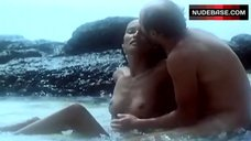 Laura Gemser Nude in Sea Waves – Private Collections