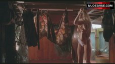 Alonna Shaw Topless in White Panties – Double Impact
