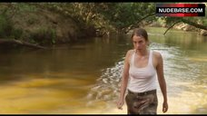 Adele Haenel Pokies Through White Top – Love At First Fight