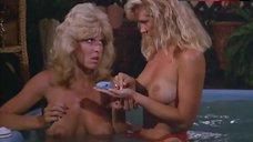 Dona Speir Topless in Pool – Hard Ticket To Hawaii