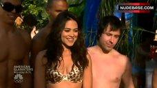 Camille Guaty in Leopard Bikini – Las Vegas