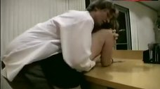 1. Meghan Callihan Sex in Office – The Janitor