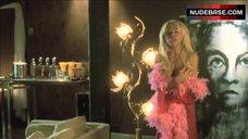 6. Jennifer Hill in Pink Boa – Ten 'Til Noon