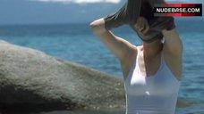 1. Tilda Swinton in Wet Shirt – The Deep End