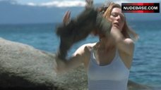 2. Tilda Swinton in Wet Shirt – The Deep End