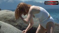 5. Tilda Swinton in Wet Shirt – The Deep End