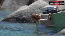 9. Tilda Swinton in Wet Shirt – The Deep End