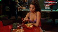 Nadine Velazquez in Purple Bra – My Name Is Earl