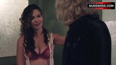 2. Nadine Velazquez in Red Bra and Panties – Z Nation