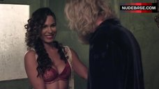 3. Nadine Velazquez in Red Bra and Panties – Z Nation