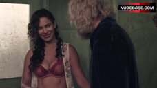 4. Nadine Velazquez in Red Bra and Panties – Z Nation