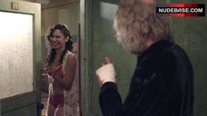 5. Nadine Velazquez in Red Bra and Panties – Z Nation