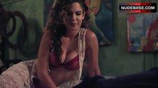 2. Hot Nadine Velazquez in Bed – Z Nation