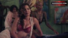 3. Hot Nadine Velazquez in Bed – Z Nation