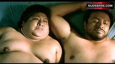 Fat Bertha Ruiz Shows Boobs and Butt – Battle In Heaven