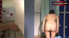 10. Siwan Morris Naked in Shower – Skins