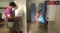 4. Siwan Morris Naked in Shower – Skins