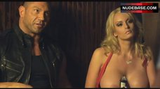 5. Stormy Daniels with Huge Nude Boobs – Wrong Side Of Town