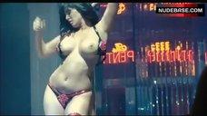 5. Sunny Leone Striptease Scene – The Virginity Hit