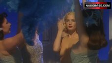 6. Kelly Reilly Topless on Stage – Mrs. Henderson Presents