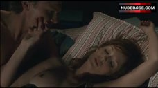 7. Kelly Reilly Shows Nude Boob – Puffball