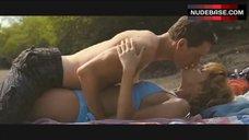 Kelly Reilly Bikini Scene – Eden Lake