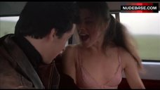 Daphne Zuniga Shows Boobs in Car – The Sure Thing