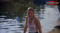1. Denise Crosby in Wet T-Shirt – Eliminators