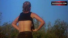 15. Denise Crosby in Wet T-Shirt – Eliminators