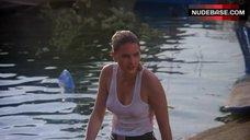2. Denise Crosby in Wet T-Shirt – Eliminators