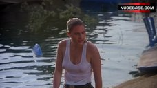 Denise Crosby in Wet T-Shirt – Eliminators