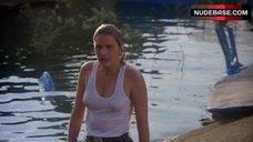 5. Denise Crosby in Wet T-Shirt – Eliminators