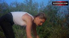 9. Denise Crosby in Wet T-Shirt – Eliminators