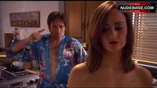 12. Diane Farr Shows Naked Boobs and Ass – Californication