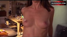 4. Diane Farr Shows Naked Boobs and Ass – Californication