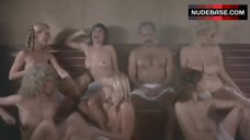 Linnea Quigley Bare Boobs in Steam Room – Still Smokin'