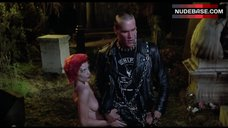 Linnea Quigley Naked on Cemetery – The Return Of The Living Dead