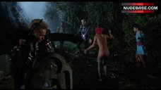 Linnea Quigley Nude on Graveyard – The Return Of The Living Dead
