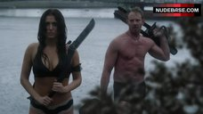 Cassie Scerbo in Sexy Lingerie – Sharknado 3: Oh Hell No!