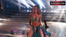 Alexa Vega in Lingerie – Dancing With The Stars