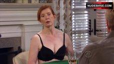 Frances Conroy in Black Lingerie Bra - How I Met Your Mother