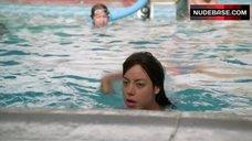 4. Aubrey Plaza Hot Scene – The To Do List
