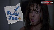 10. Aubrey Plaza in Blowjob in Shower – The To Do List